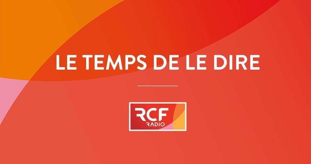 RCF Le temps de le dire logo